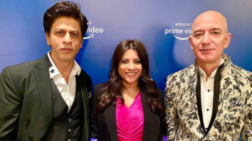 Watch: When Shah Rukh Khan made Amazon CEO Jeff Bezos mouth a Don dialogue!