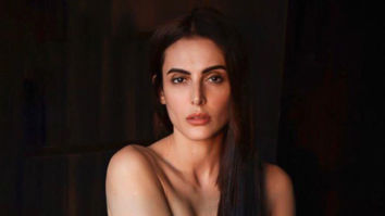 The mercury is rising! Mandana Karimi goes topless in her latest photo