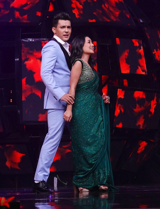 Neha Kakkar and Aditya Narayan's scintillating dance performance on Indian Idol season 11