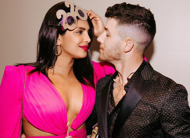 Priyanka Chopra and Nick Jonas bring in the new year with some champagne and a lot of PDA