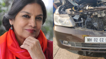 FIR filed against Shabana Azmi's driver for rash driving
