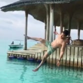 Watch: Shirtless Tiger Shroff aces a backflip in his latest video