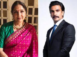'83: Neena Gupta to play Ranveer Singh's mother in Kabir Khan directorial