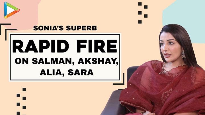 """Fitness Advice - Salman Khan & Akshay Kumar, Acting Advice- Kajol"" Sonia Mann Rapid Fire"