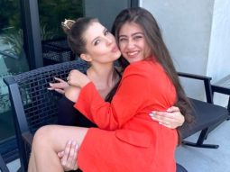 Aditi Bhatia of Yeh Hai Mohabbatein meets Amanda Cerny on her trip to California and the pictures are adorable!