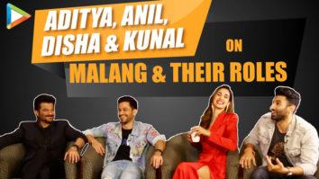 Aditya, Disha, Anil & Kunal on Malang & their roles Hilarious Quiz Mohit Suri