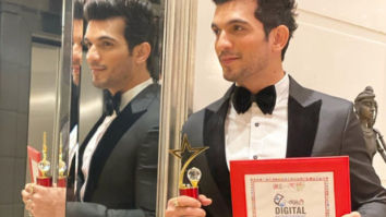 Arjun Bijlani titled as the TV Personality of the Year 2019 at Global Digital Marketing Awards!
