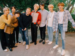 BTS just vibing in mad-cap Carpool Karaoke with James Corden will make your day better
