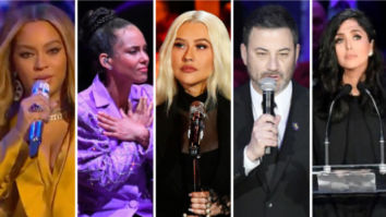 Beyonce, Alicia Keys, Christina Aguilera, Jimmy Kimmel, Vanessa Bryant pay emotional tribute to late Kobe Bryant and his daughter Gianna