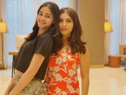 Bhumi Pednekar grooves to the tunes of 'Ankhiyon Se Goli Mare' from Pati Patni Aur Woh with Ananya Panday
