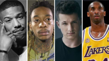 Michael B. Jordan, Wiz Khalifa and Charlie Puth pay emotional tribute to late Kobe Bryant