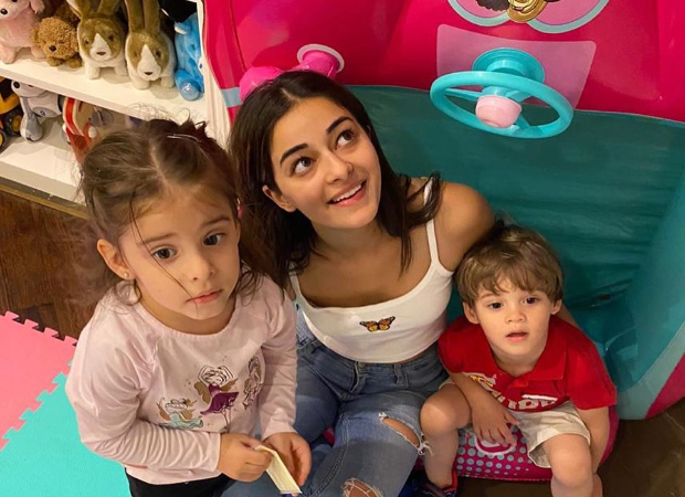 'Aunty' Ananya Panday hangs out with Roohi and Yash Johar and the pictures are too cute for words!