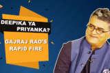 "Gajraj Rao ""Maine 25 saal intezar kiya hai, main aapse guzarish karta hoon ke…"" Rapid Fire SMZS"