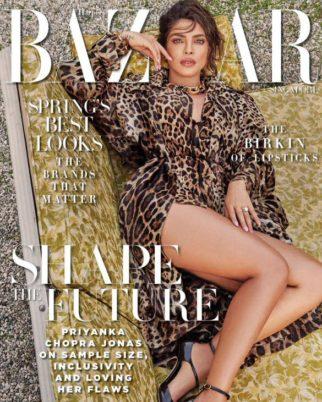 Priyanka Chopra Jonas On The Covers Of Harper's Bazaar