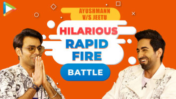 LAUGH RIOT Ayushmann vs Jeetu- Rapid Fire on Ranveer, Sara, Yami, Gay couples SMZS