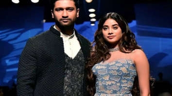 Lakmé Fashion Week 2020 Vicky Kaushal and Janhvi Kapoor enchant the crowd dressed in Kunal Rawal for the Gen Next Alumni