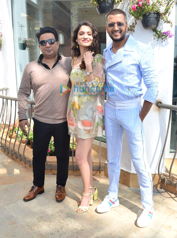 Photos: Ankita Lokhande, Riteish Deshmukh and Ahmed Khan snapped promoting her film Baaghi 3