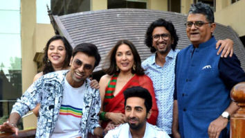 Photos: Ayushmann Khurrana, Jitendra Kumar, Neena Gupta and others snapped during Shubh Mangal Zyada Saavdhan promotions