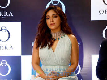 Photos: Bhumi Pednekar snapped launching the largest ORRA store in Nagpur