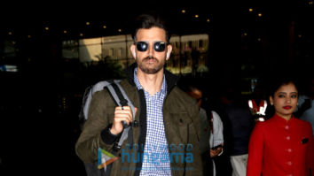 Photos: Hrithik Roshan and Vivek Oberoi snapped at the airport