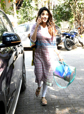 Photos: Janhvi Kapoor, Sushant Singh Rajput and Mira Rajput spotted at the gym