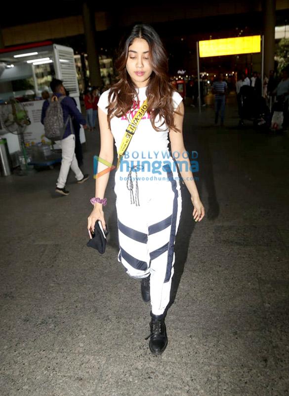 Photos: Janhvi Kapoor and Diljit Dosanjh snapped at the airport