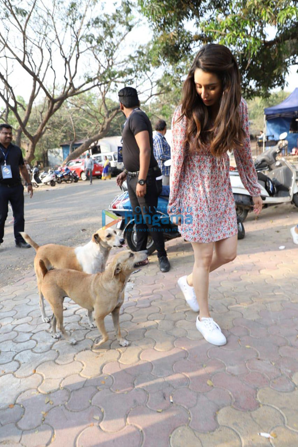 Photos Shraddha Kapoor spotted at Film City (2)