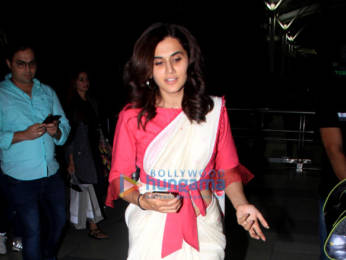 Photos: Taapsee Pannu and Vicky Kaushal snapped at the airport