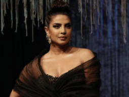 Priyanka Chopra hits the ramp in beautiful black gown, pays tribute to Wendell Rodricks at Blenders Pride Fashion Tour 2020