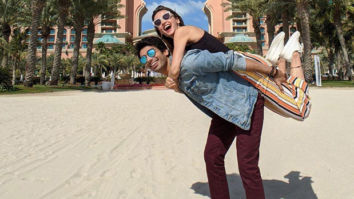 Sanaya Irani and Mohit Sehgal's vacation in Dubai is all about the piggy back rides and chilling by the pool
