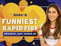 Sara's HILARIOUS advice to girls who want to DATE Kartik Aaryan Rapid Fire Love Aaj Kal