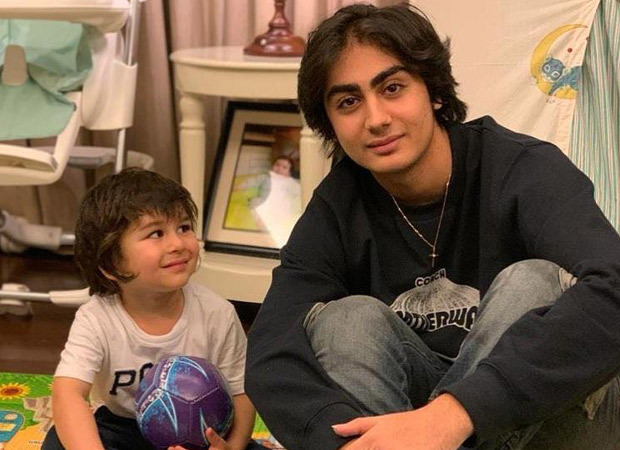 Taimur Ali Khan looks in awe of Arhan Khan in this adorable picture!