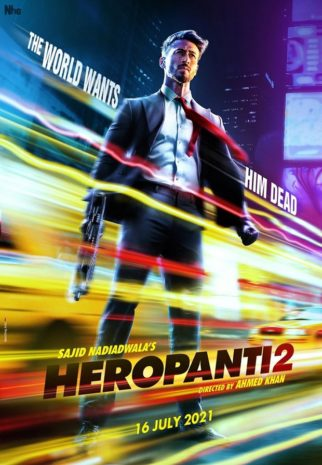 Tiger Shroff is a man on a mission in first posters of Heropanti 2, film to release on July 16, 2021