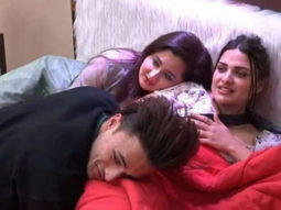 VIDEO Himanshi Khurana can't stop laughing as her fellow Bigg Boss 13 contestants Rashami Desai and Asim Riaz do the 'Garmi' hookstep