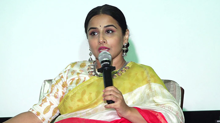 Vidya Balan Attend St Xaviers College Conference Finding Mother - The Conference1