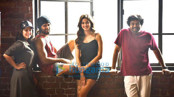 On The Sets Of The Movie Vijay Deverakonda And Ananya Panday's Next