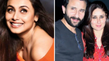 Rani Mukerji advised Saif Ali Khan to behave like he is in a relationship with a man, while dating Kareena Kapoor