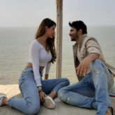 Varun Dhawan and Disha Patani shoot for an ad in California