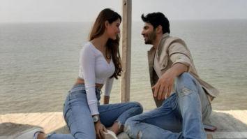 Varun Dhawan and Disha Patani shoot for an ad in California