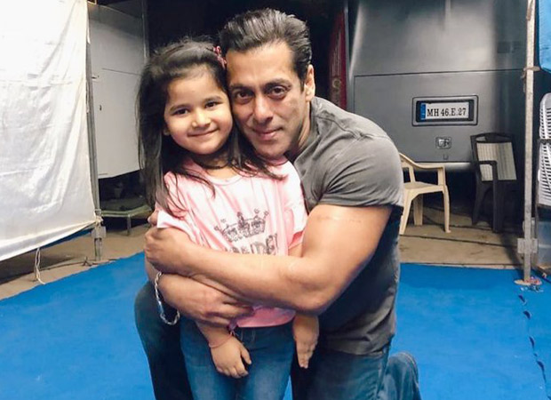Watch: Salman Khan kissing a little fan is the sweetest thing on the internet today