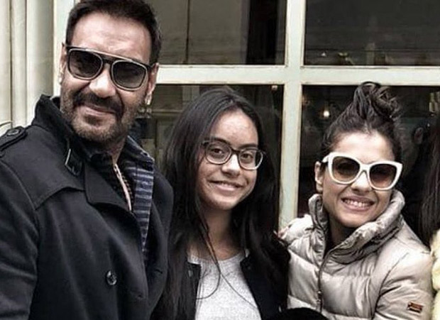 Ajay Devgn salutes the women in his life, Kajol and Nysa, with a throwback picture