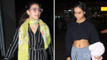 Amid Coronavirus pandemic, Kajol returns to Mumbai with daughter Nysa from Singapore