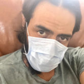 Amidst coronavirus outbreak, Arjun Rampal advises followers to wear mask and carry hand sanitizer