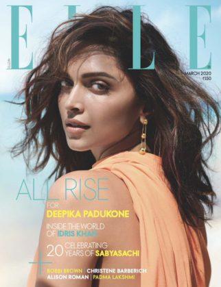 Deepika Padukone On The Covers Of Elle