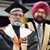 Shahid Kapoor congratulates father Pankaj Kapur as he receives his doctorate