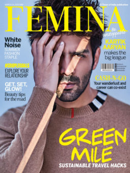 Kartik Aaryan On The Cover Of Femina