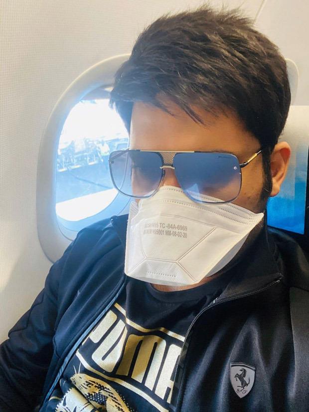 Kapil Sharma travels wearing mask, gives advice to fans amid Coronavirus outbreak
