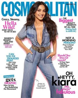 Kiara Advani On The Covers Of Cosmopolitan