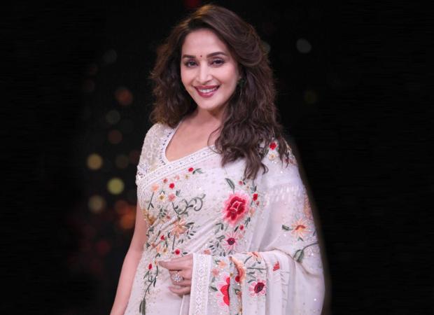 Madhuri Dixit begins shooting for Netflix series