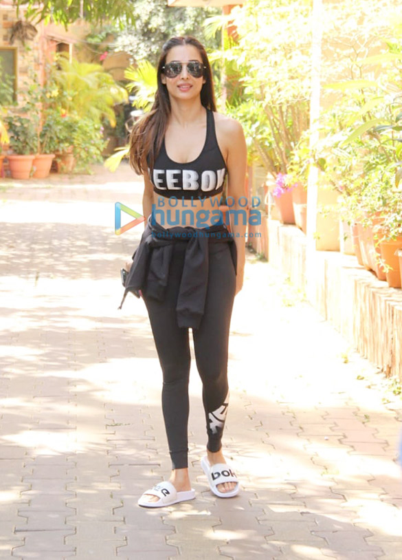 Photos: Malaika Arora, Genelia Dsouza and Riteish Deshmukh others snapped at the gym